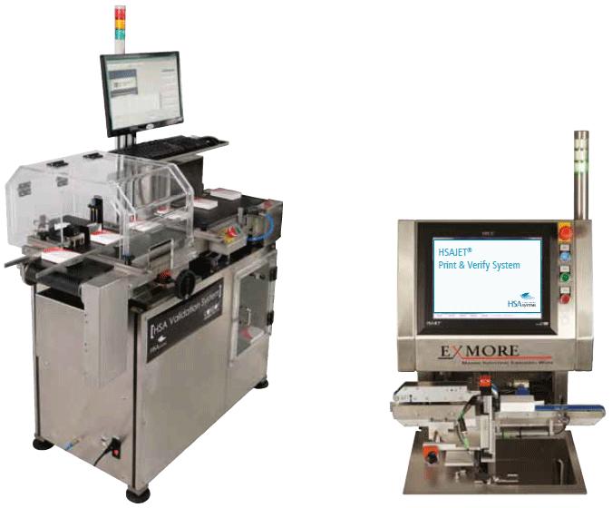 HSAJET print & Verify system