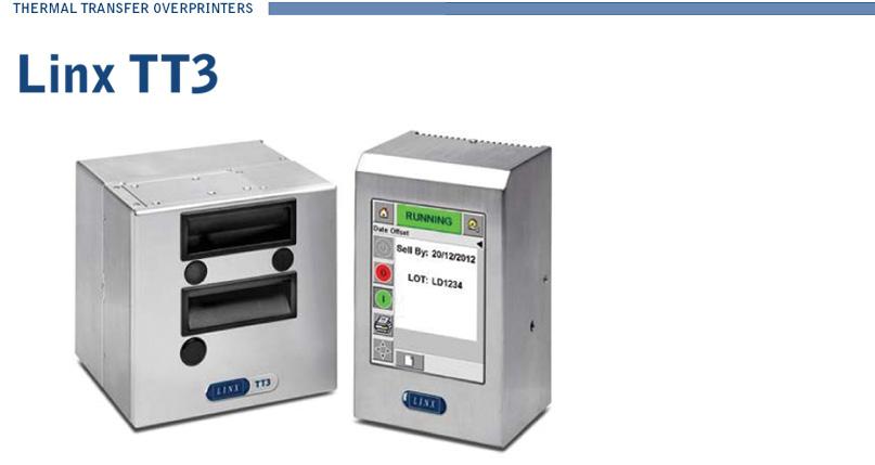 LINX TT3 Thermal Transfrer Overprinter