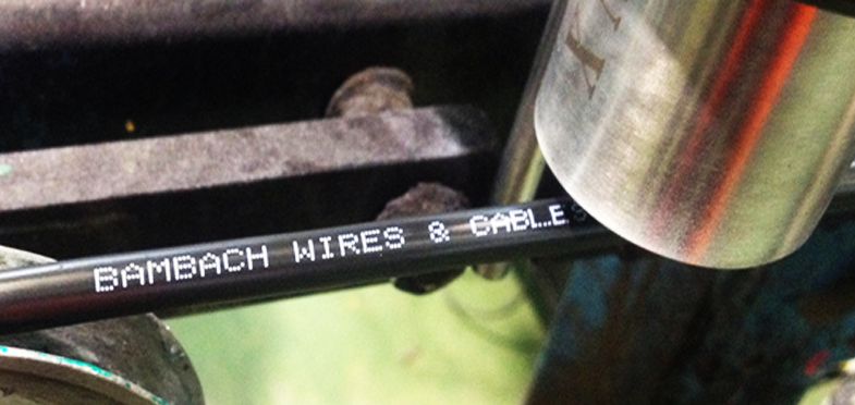 cable marking by Linx 7900