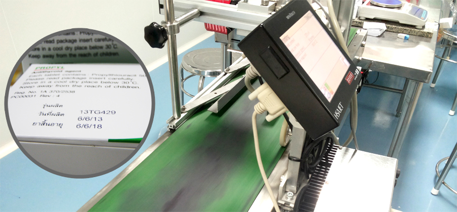 Pharmaceutical Industry- coding and marking solutions
