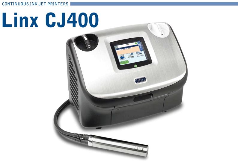Linx Portable Ink Jet Printer CJ400