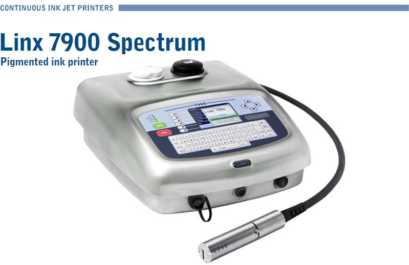 LINX 7900 spectrum