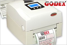 Godex barcode printer (dual-color)