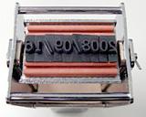 Ribtype + Justrite selfinking stamp 4mm