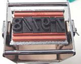 Justrite selfinking stamp + Ribtype 8mm