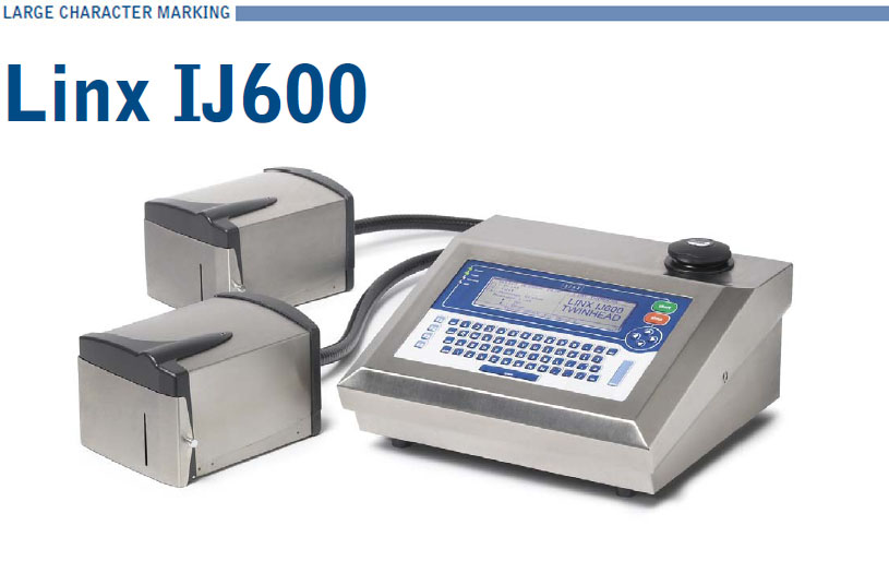 Linx IJ600 Large Character Marking